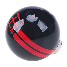 for Mustang Shelby Cobra GT500 Stripes 5-speed shift knob Gear Stick Black/Red