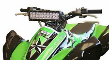 "Rigid E Series 10"" 10 Inch ATV Light Bar & Bracket Mount TRX450R 250R 400EX TRX"
