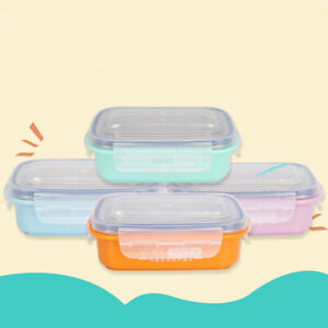 Kitchen Food Container Lunch Box Children School Box Stainless Steel Food Box SA