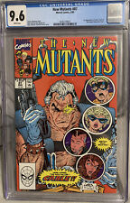 NEW MUTANTS #87 CGC NM+ 9.6 1990 MARVEL COMICS 1ST APPEARANCE OF CABLE