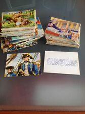 Mancolista figurine I GRANDI DELLA STORIA ediz. album dell 'arte -NUOVE-
