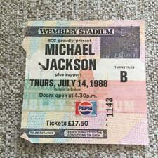 Michael Jackson ticket Wembley Stadium 14/07/88 #1143  Bad tour