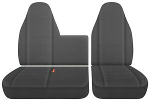 fits Isuzu N series trucks  npr nrr  front seat covers 40-60 Bench   #35  CO23