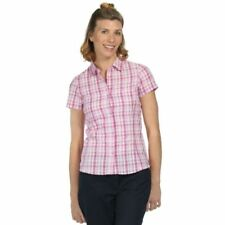 Camisa de mujer de color principal rosa 100% algodón