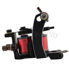 New 12 Wrap Jazz Arc Carbon Steel frameQuality tattoo Coils Machine Gun Shader