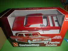 AMT 1962 PONTIAC CATALINA 421SD PRO SHOP Model Car Mountain KIT 1/25 FS RED