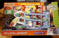 "MATCHBOX Tri LEVEL PARKING GARAGE (2009) BRAND NEW SEALED ""TOYS R US EXCLUSIVE"""