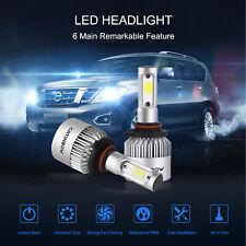 2Pcs COB 9006 HB4 9012 200W 20000LM LED Headlight Kit High/Low Beam Bulb 6000K