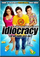 IDIOCRACY New Sealed DVD Luke Wilson