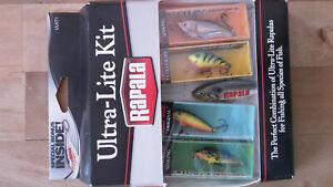 Rapala Ultra Lite Kit Wobbler Barsch Hecht Zander