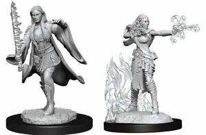 D&D Nolzur's Marvelous Unpainted Miniatures: Female Multiclass Warlock +Sorcerer
