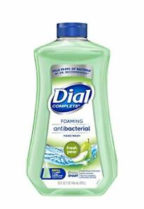 Dial Complete AB Foaming Hand Soap Refill, 32oz Fresh Pear