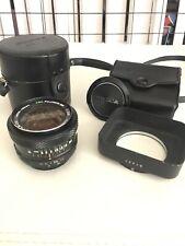 Fujinon-Sw Ebc 28mm 1:3.5 Lens with accessories