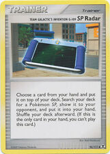 Team Galactic's Invention G-109 SP Radar Uncommon Pokemon Card Pt2 96/111