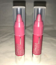 2X Clinique Chubby Stick Intense 06 Roomiest Rose .04 oz EACH