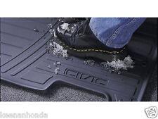Genuine OEM Honda Civic Black Front All Season Floor Mat Set 2001- 2005 Mats