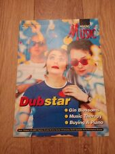 MAKING MUSIC MAGAZINE ISSUE 121 APRIL 1996 ~ DUBSTAR / GIN BLOSSOMS & MORE