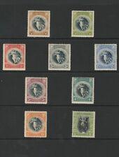 BARBADOS 1920 SG201- 209 MTD MINT CAT£40