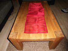 Tischläufer 145x32 Organza Rot Tischdekoration