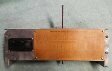 Bc Hammond Organ Volume Control Assembly & Terminal Box with Serial # Plate #