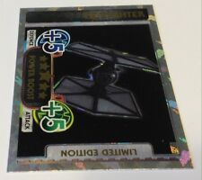 STAR WARS TOPPS LIMITED EDITION CARD FORCE ATTAX TIE FIGHTER