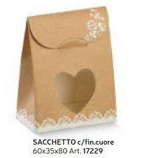 10 Scatole Bomboniera sacchetto  Porta Confetti Rose Avana