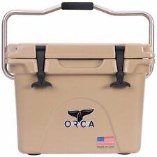 Orca 20 QT Tan Cooler / Lifetime Warranty / TAN 20 QUART COOLER  **NEW**