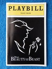 Beauty And The Beast - Palace Theatre Playbill - October 1995 - Jeff McCarthy