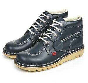 KICKERS KICK HI BABY INFANT JUNIOR YOUTH CHILDRENS KIDS BOYS LEATHER LACE BOOTS