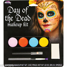 Sugar Skull Day of the Dead Halloween Complete Makeup Kit