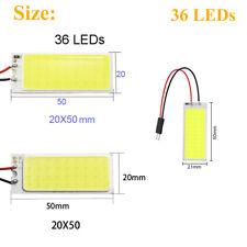 5x 12V White Car Celiing Panel Light Vehicle Interior LED COB Chip Bulb ST833