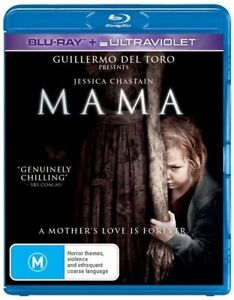 *New/Sealed* Mama (Blu-ray) Ghost Horror movie w/Kingslayer from Game of Thrones