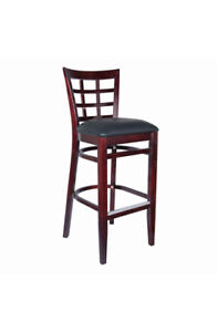 Wholesale price commercial restaurant wood Bar-stools