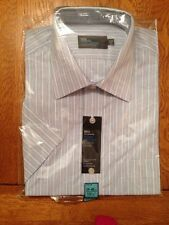 "Marks & Spencer Tailoring Pure Cotton Quick Iron 15.5"" Classic Fit Shirt"
