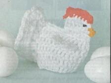 Crochet Pattern ~ CHICKEN DELIGHT Kids Stuffed Animal Toy ~ Instructions