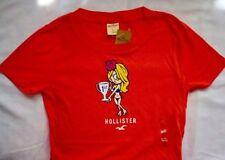 Hollister Hip Length Crew Neck Petite T-Shirts for Women