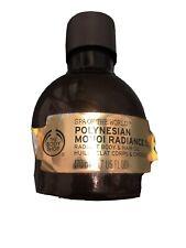 Body Shop Polynesian Monoi Radiance Oil Body & Hair Spa Of The World 170ml New