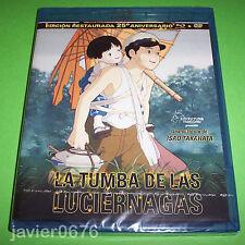 LA TUMBA DE LAS LUCIERNAGAS COMBO BLU-RAY + DVD  NUEVO Y PRECINTADO