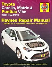 Service Repair Manuals For Toyota Corolla For Sale Ebay