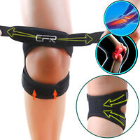 Knee Brace Support Compression Patella Straps Tennis Joint Pain Arthritis Relief