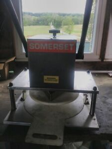 Somerset dough pizza press model sdp-180lc
