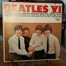 THE BEATLES-VI-SIX-LP-1st PRESSING-IN GOOD+CONDITION-FILLER LP FOR COLLECTION