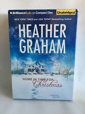 HOME IN TIME FOR CHRISTMAS Heather Graham  CD Unabridged FREE SHIP