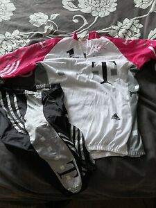 Vintage ADIDAS T-mobile Cycling jersey and Shorts. Large L