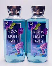 2 Bath & Body Works MOONLIGHT PATH Shower Gel Body Wash