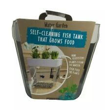 Back to the Roots Self Cleaning Fish Tank Aquarium Aquafarm Indoor Garden, New