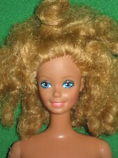 VINTAGE  MAGIC CURL BARBIE-1981-Nude