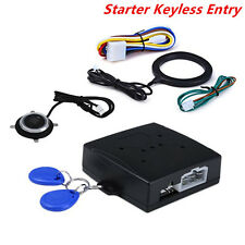 Car Auto Engine Push Start Button RFID Lock Ignition Starter Keyless Entry Alarm