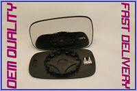 RENAULT SCENIC mk2 2003-2009 WING MIRROR GLASS CONVEX HEATED LEFT H/S