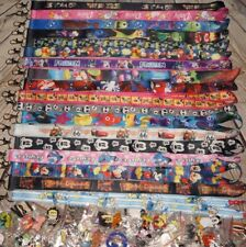 Disney World Pin Trading Lot Lanyard Starter Set With 2 Lanyards and 50 Pins